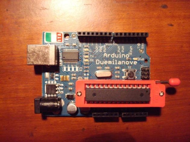 How do you program your standalone arduino chip liudr s