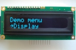 phi-panel backpack 16X2 OLED menu