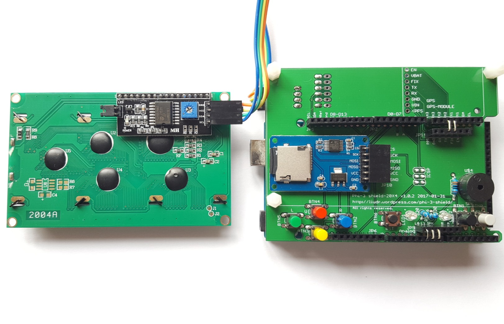 New data logger and arduino shield designs