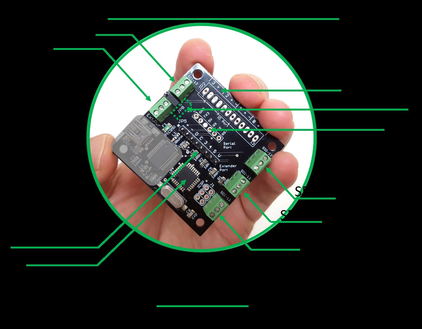 SDI-12 TTL adapter